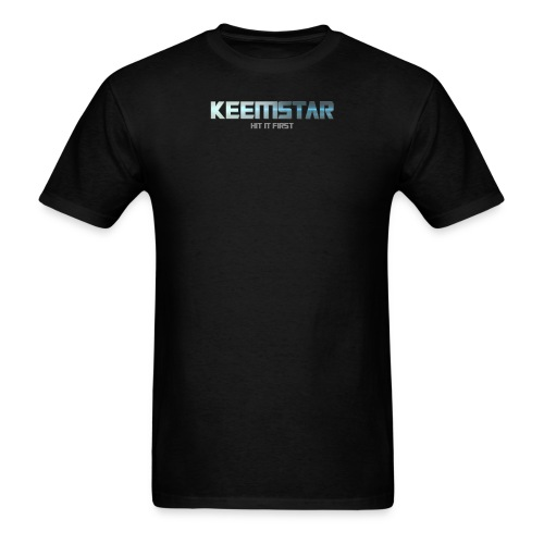 hititfirst tee png - Men's T-Shirt