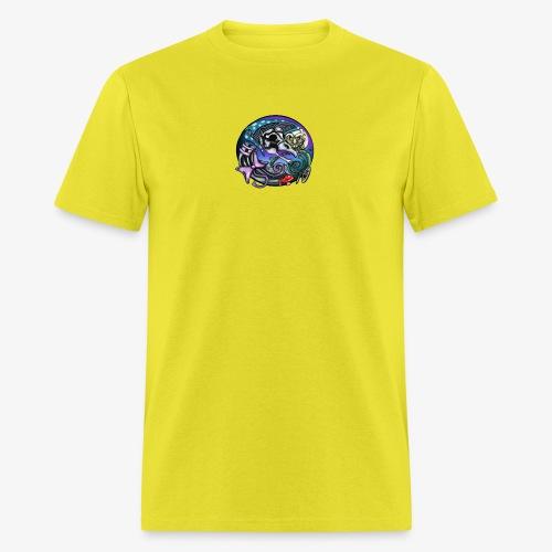 Mother CreepyPasta Nursery Rhyme Circle Design - Men's T-Shirt