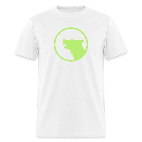 Wolf Silhouette Vector - Men's T-Shirt