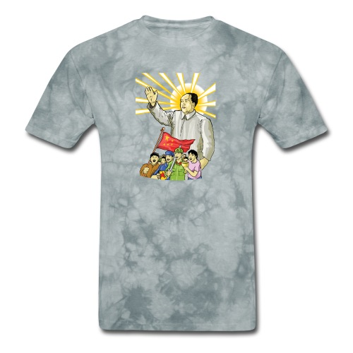 Mao Waves to the People - Men's T-Shirt