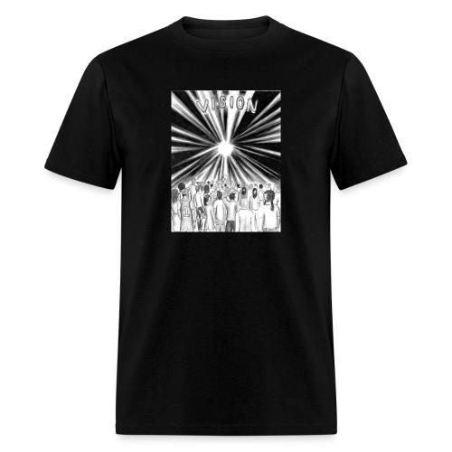 Black_and_White_Vision - Men's T-Shirt
