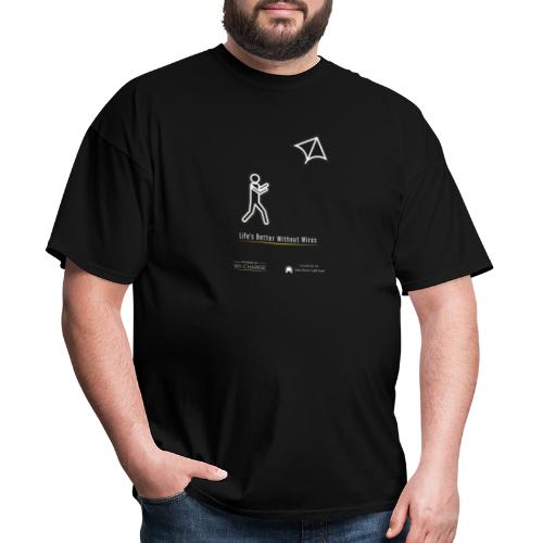 Life's better without wires: Kite - SELF - Men's T-Shirt