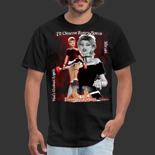 Undead Angel Mizuki Maid - Men's T-Shirt