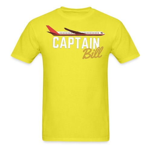 Captain Bill Avaition products - Men's T-Shirt