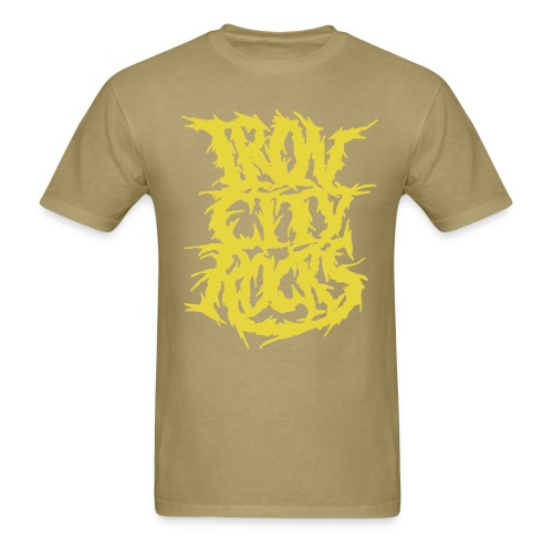 ICR Death Yellow png - Men's T-Shirt