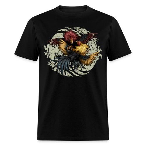 Ying Yang Gallos by Rollinlow - Men's T-Shirt