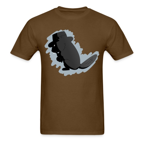 beaver png - Men's T-Shirt