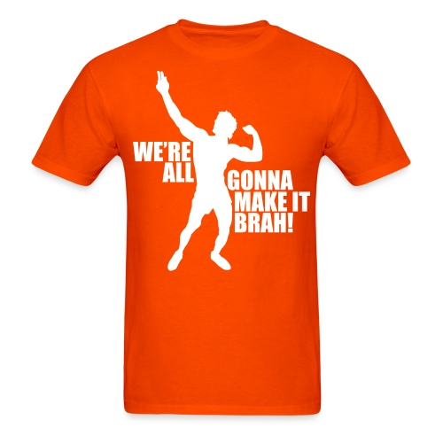 Zyzz Silhouette we're all gonna make it - Men's T-Shirt