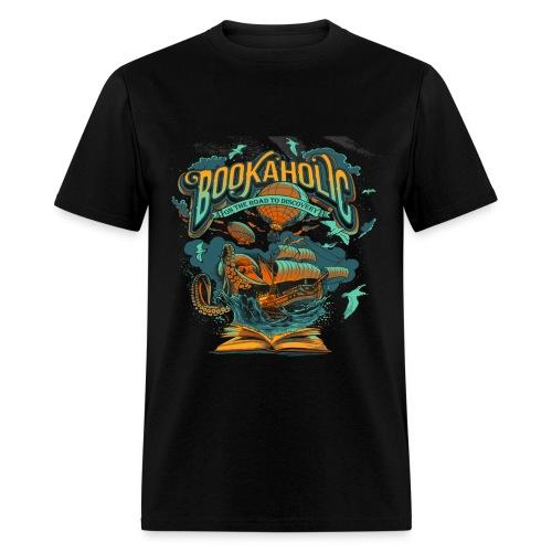 Bookaholic - Men's T-Shirt