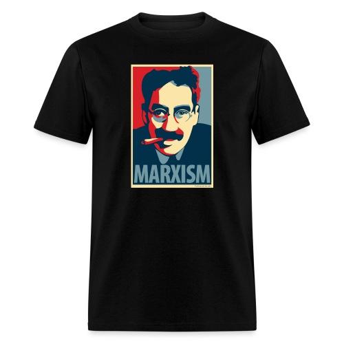 Marxism: Obama Poster Parody - Men's T-Shirt