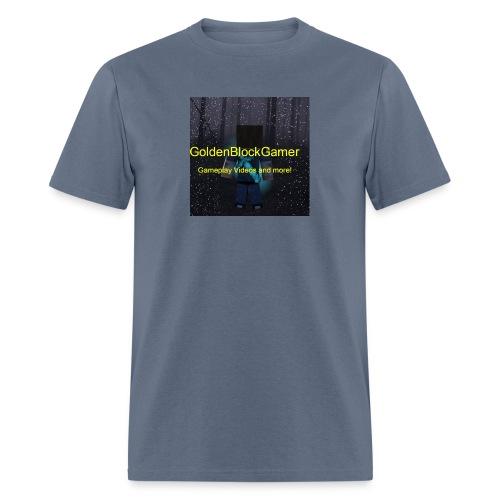 GoldenBlockGamer Tshirt - Men's T-Shirt