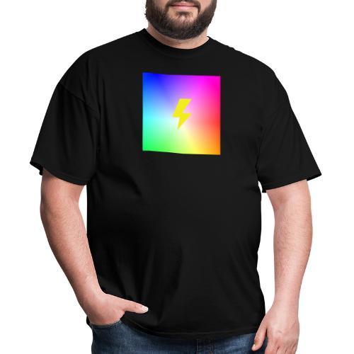 Rainbow lightning t-shirt - Men's T-Shirt