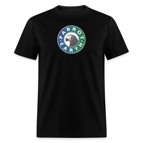 ParrotEarth Logo1 gradientTM png - Men's T-Shirt