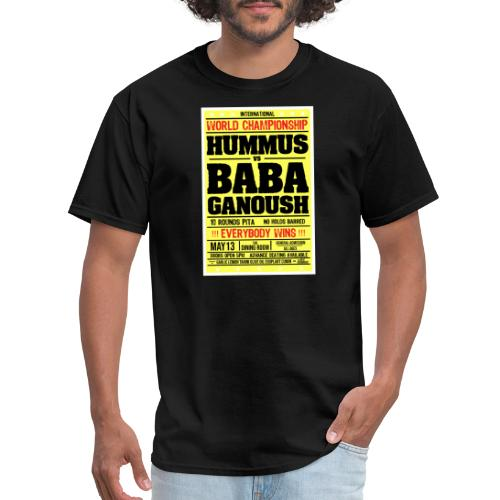 Hummus vs baba ganoush - Men's T-Shirt