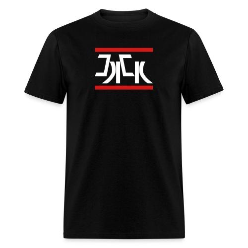 Jack Red White Logo - Men's T-Shirt