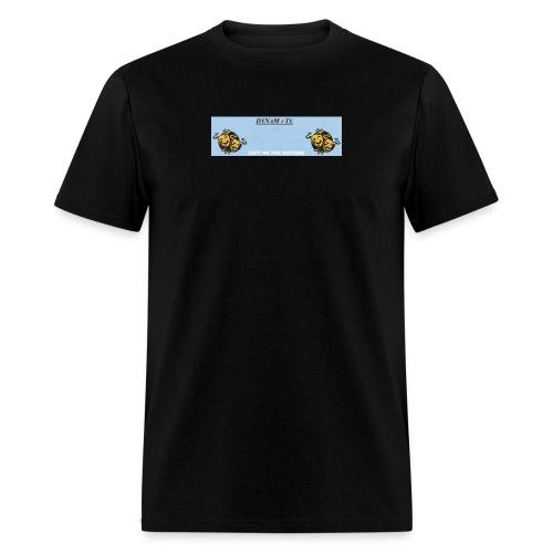 dynamite left on the outside banner - Men's T-Shirt