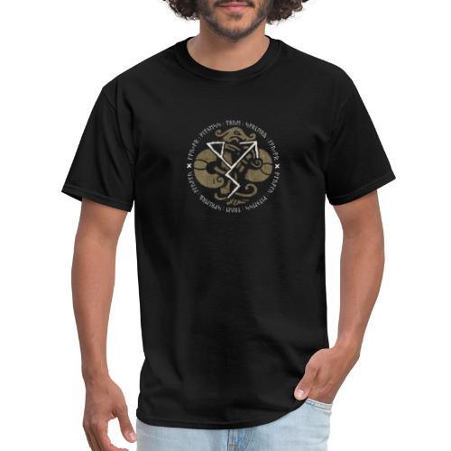 Witness True Sorcery Emblem (Alu, Alu laukaR!) - Men's T-Shirt