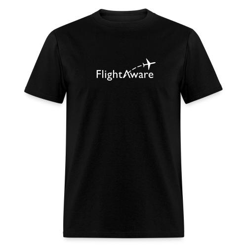 flightaware logo - Men's T-Shirt