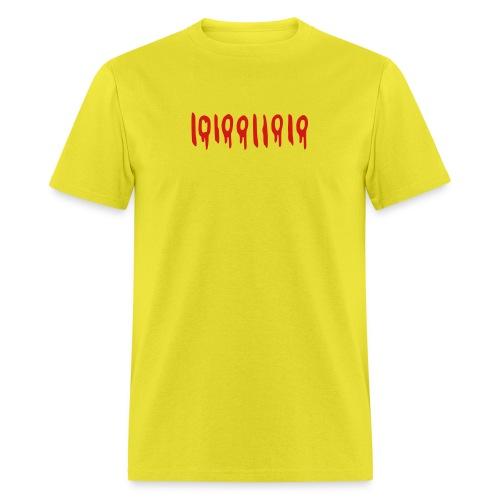 binary 666 - Men's T-Shirt