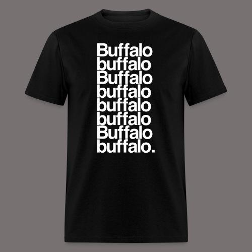 Buffalo buffalo Buffalo - Men's T-Shirt