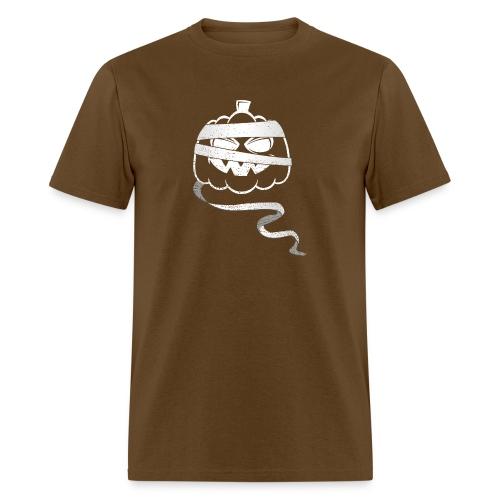 Halloween Bandaged Pumpkin - Men's T-Shirt