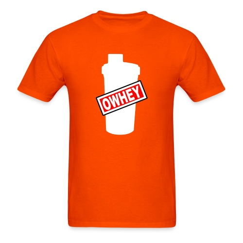 OWHEY Protein Shaker - Men's T-Shirt