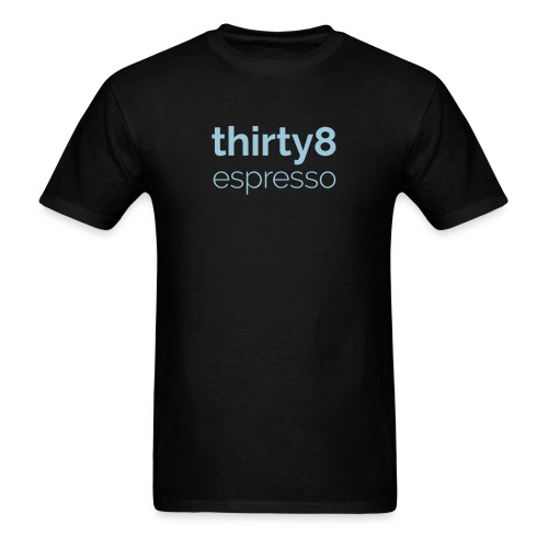 38Espresso Words Green - Men's T-Shirt