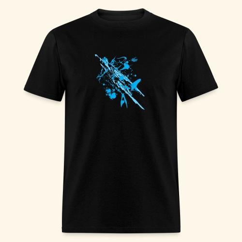 Blue Splash - Men's T-Shirt