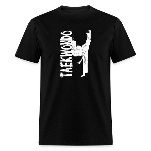 Taekwondo kick right foot - Men's T-Shirt