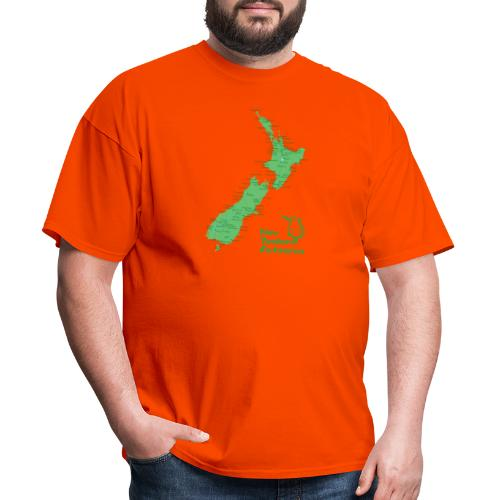 New Zealand's Map - Men's T-Shirt