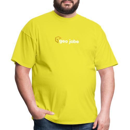 GEO Jobe Corp Logo White Text - Men's T-Shirt
