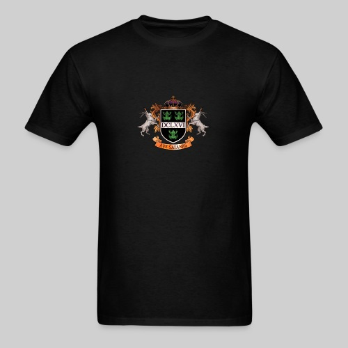 Satanic Heraldry - Coat of Arms - Men's T-Shirt