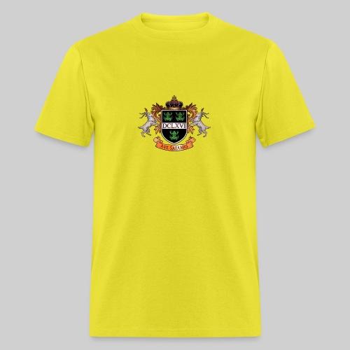 Satanic Heraldry - Coat of Arms - Men's T-Shirt
