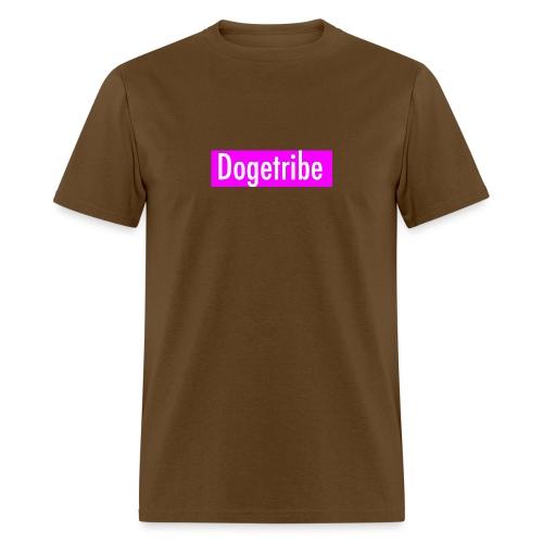 Dogetribe pink logo - Men's T-Shirt