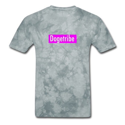 Dogetribe pink logo - Men's T-Shirt