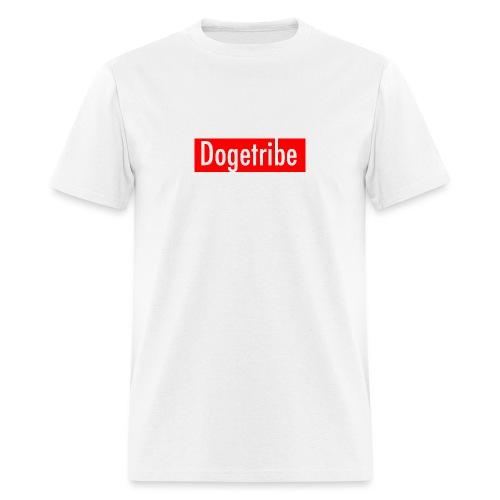 Dogetribe red logo - Men's T-Shirt