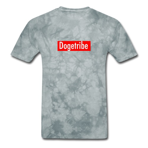 Dogetribe red logo - Men's T-Shirt