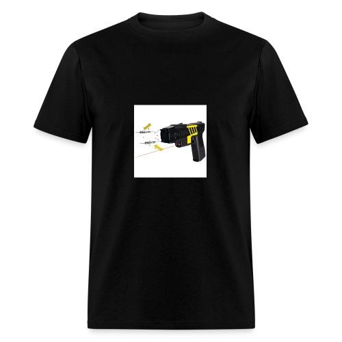 taserm26c firing jpg - Men's T-Shirt