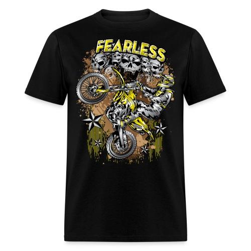 Fearless Motocross Suzuki - Men's T-Shirt