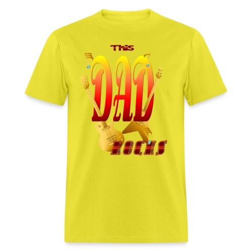 This Dad Rocks! - Men's T-Shirt