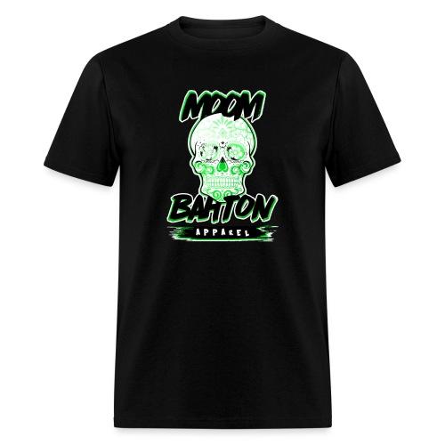 Sugar Skull Green - Men's T-Shirt