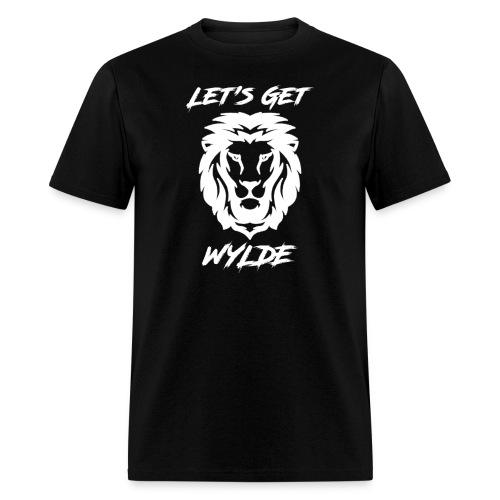 Let's Get Wylde (White) - Men's T-Shirt