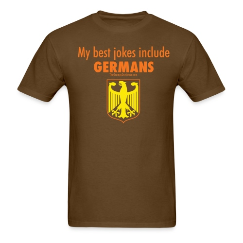 16 Germans colored lettering - Men's T-Shirt