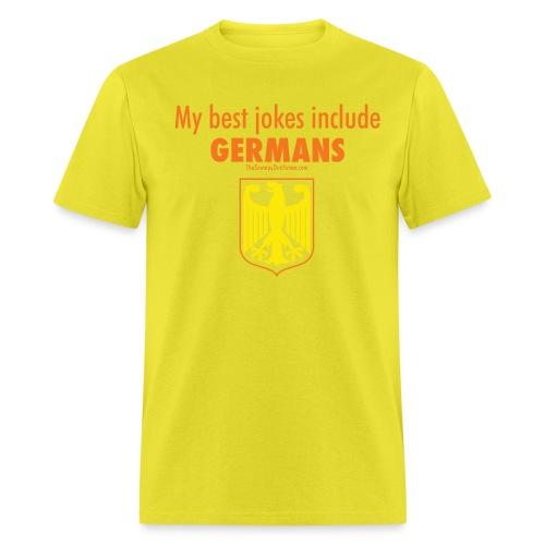 16 Germans colored lettering - Men's T-Shirt