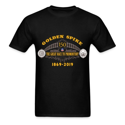 Golden Spike Color UP Logo - Men's T-Shirt