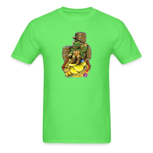 Angry Irish Leprechaun - Men's T-Shirt