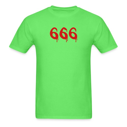 bloody 666 - Men's T-Shirt