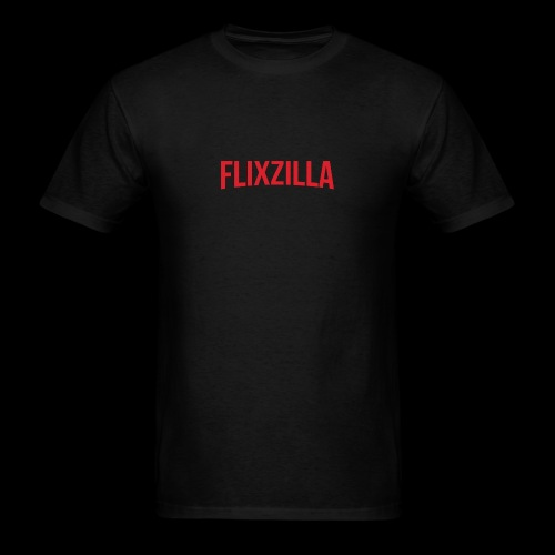 Flixzilla Logo - Men's T-Shirt