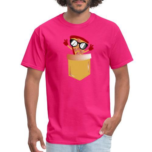 Pizza Lover pocket - Men's T-Shirt