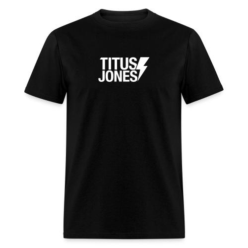MAIN LOGO WHITE png - Men's T-Shirt